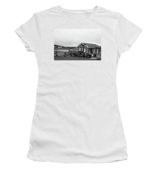 Lobster House Bw Women's T-Shirt (Athletic Fit)