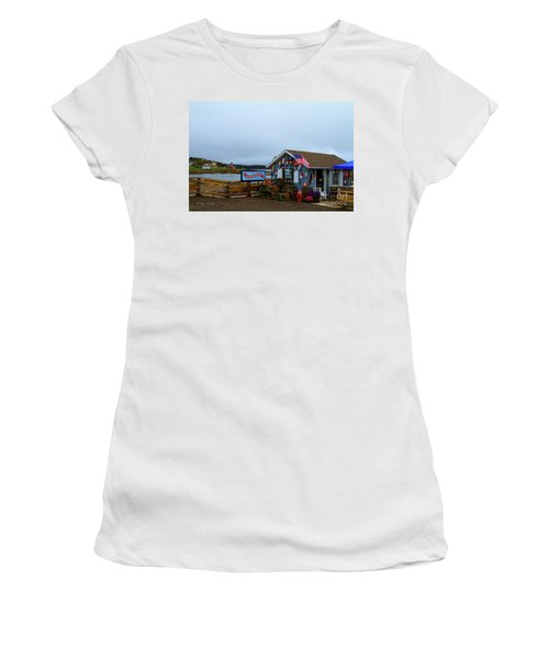 Lobster House Women's T-Shirt (Athletic Fit)