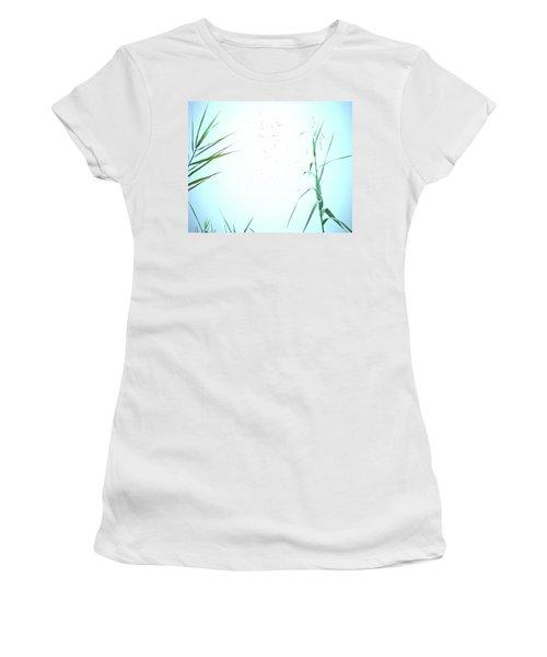 Women's T-Shirt (Junior Cut) featuring the photograph Look Of Fog by Lizi Beard-Ward