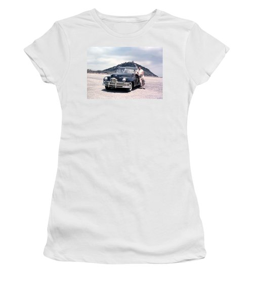 Back In The 50's Women's T-Shirt (Athletic Fit)
