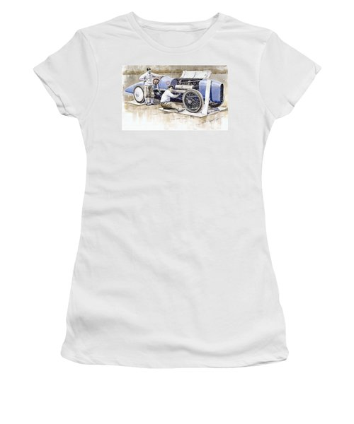 Malcolm Campbell Sunbeam Bluebird 1924 Women's T-Shirt (Athletic Fit)