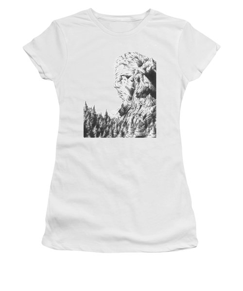 Mother Nature - Face Of The Earth Women's T-Shirt (Athletic Fit)