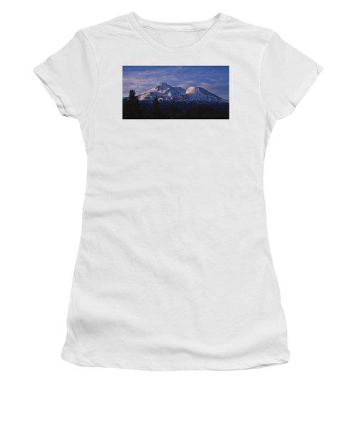Mt Shasta Women's T-Shirt (Athletic Fit)