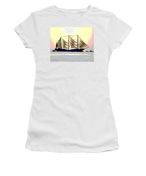 Mystical Voyage Women's T-Shirt (Athletic Fit)
