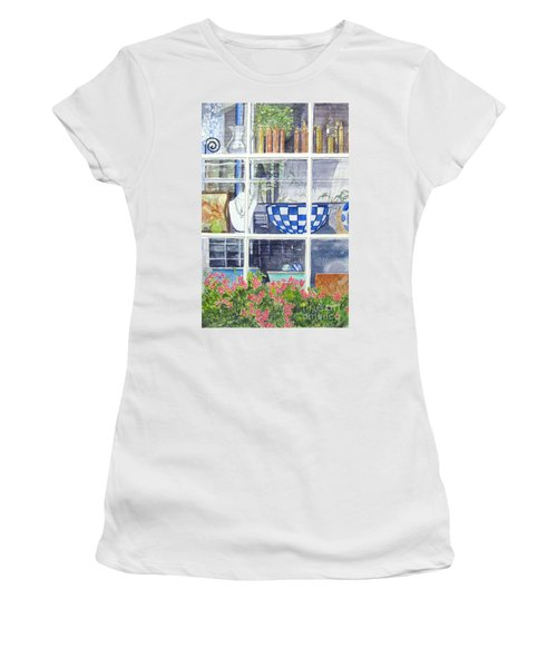 Nantucket Shop-lecherche Midi Women's T-Shirt (Junior Cut)
