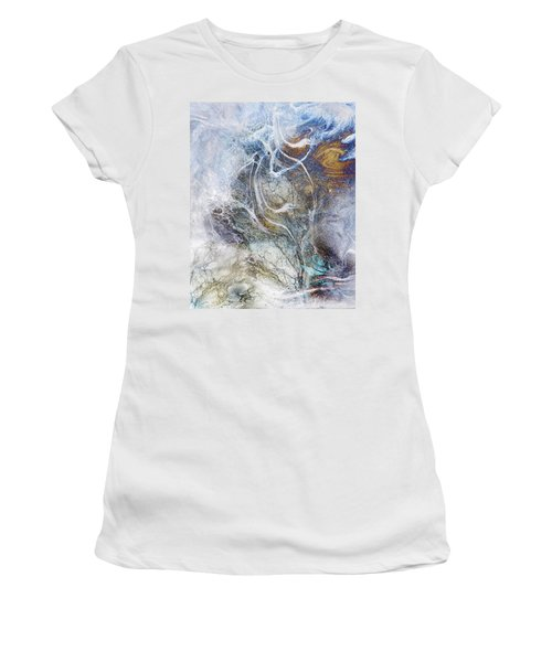 Night Blizzard Women's T-Shirt (Athletic Fit)