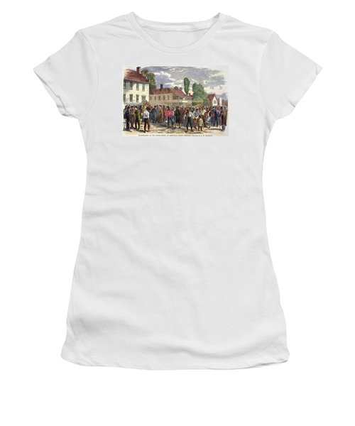 North Carolina: Vote, 1867 Women's T-Shirt