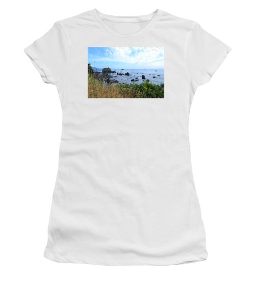 Northern California Coast2 Women's T-Shirt (Athletic Fit)