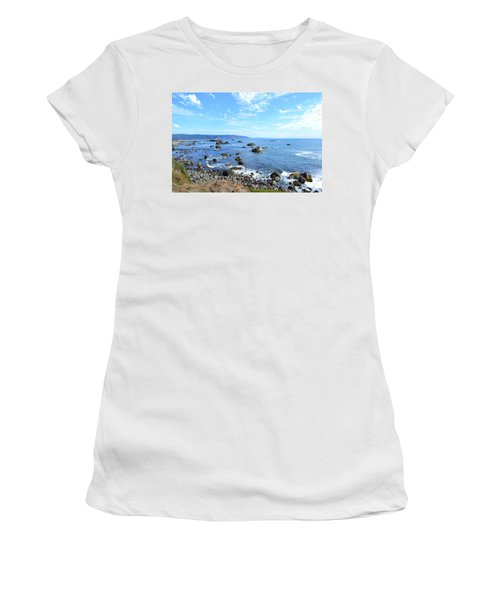 Northern California Coast3 Women's T-Shirt (Athletic Fit)