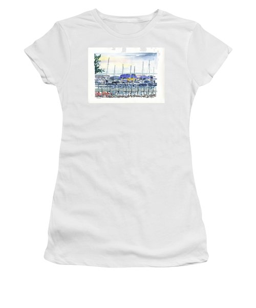 Okoboji Women's T-Shirt (Athletic Fit)