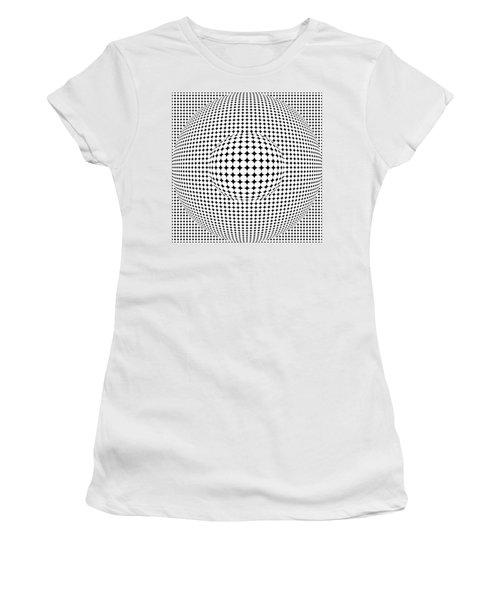 Optical Illusion Ball In Ball Women's T-Shirt