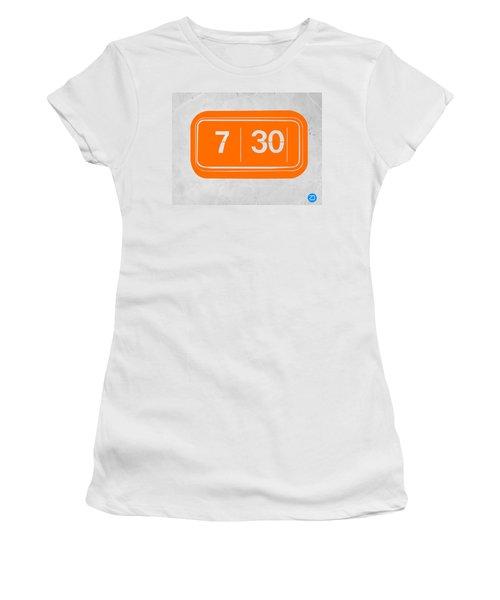 Orange Alarm Women's T-Shirt