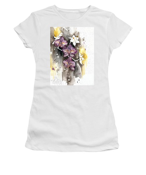 Orchid 13 Elena Yakubovich Women's T-Shirt (Athletic Fit)