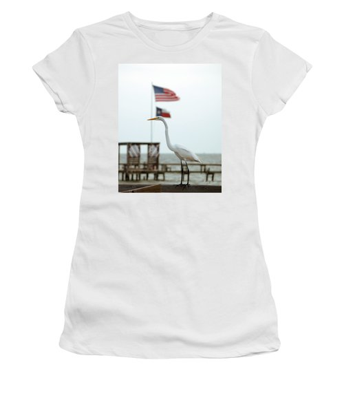 Patriotic Women's T-Shirt (Athletic Fit)