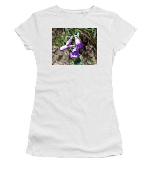 Penstemon Women's T-Shirt (Athletic Fit)