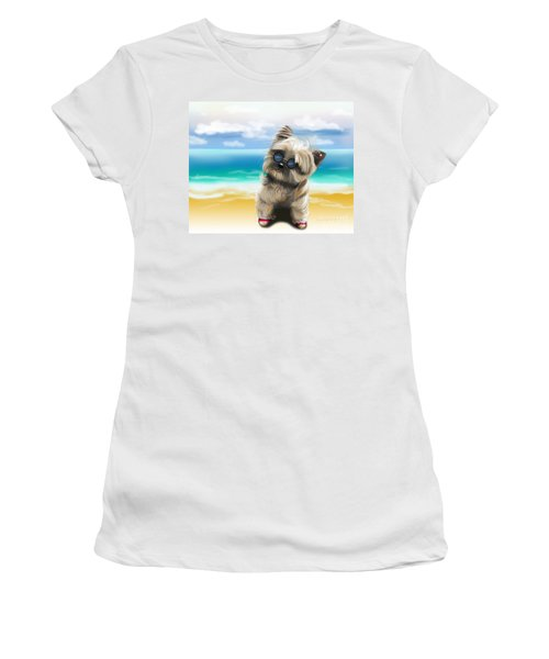 Petey In Coney Island Women's T-Shirt