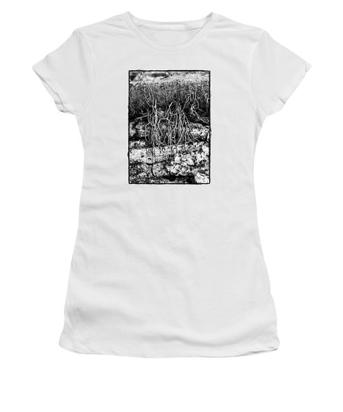 Poison Ivy Roots Women's T-Shirt (Junior Cut) by Judi Bagwell