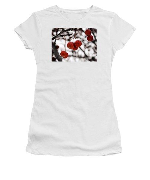 Red Winter Berries Women's T-Shirt