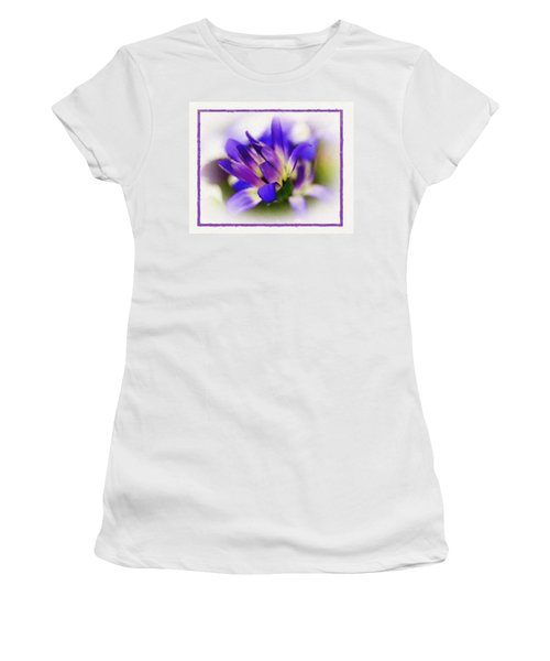 Royal Purple Women's T-Shirt (Junior Cut) by Judi Bagwell