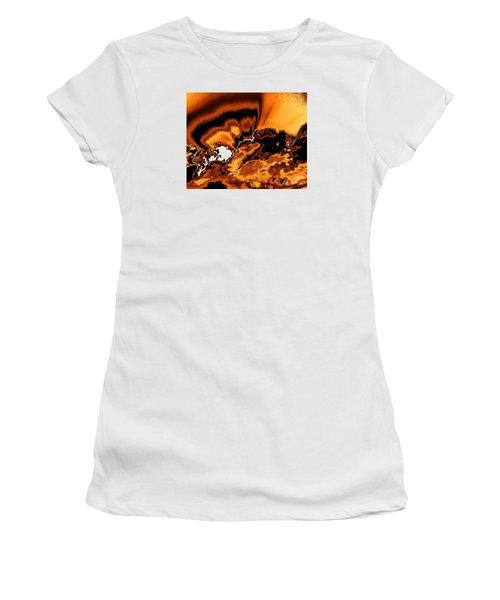 Solar Flare Women's T-Shirt (Junior Cut) by Rebecca Margraf