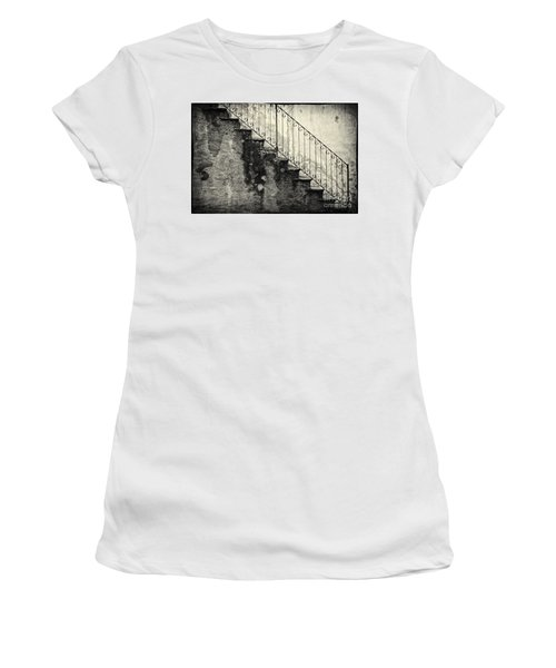 Stairs On A Rainy Day Women's T-Shirt