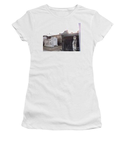 Women's T-Shirt (Junior Cut) featuring the photograph Standing Guard by Alys Caviness-Gober