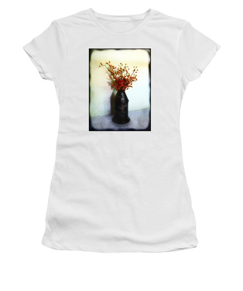 Still Life With Berries Women's T-Shirt (Junior Cut) by Judi Bagwell