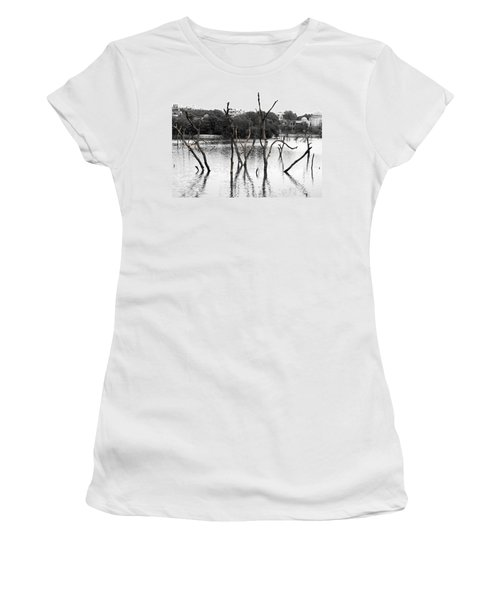 Stomps Of Trees In A Lake Women's T-Shirt