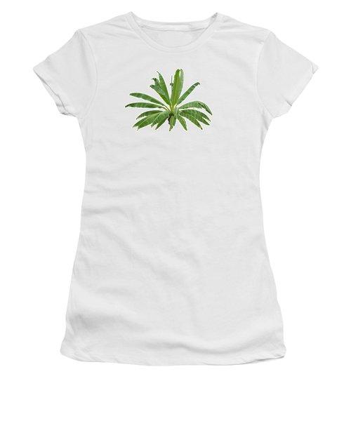 Strange Banana Tree Women's T-Shirt (Junior Cut) by Atiketta Sangasaeng