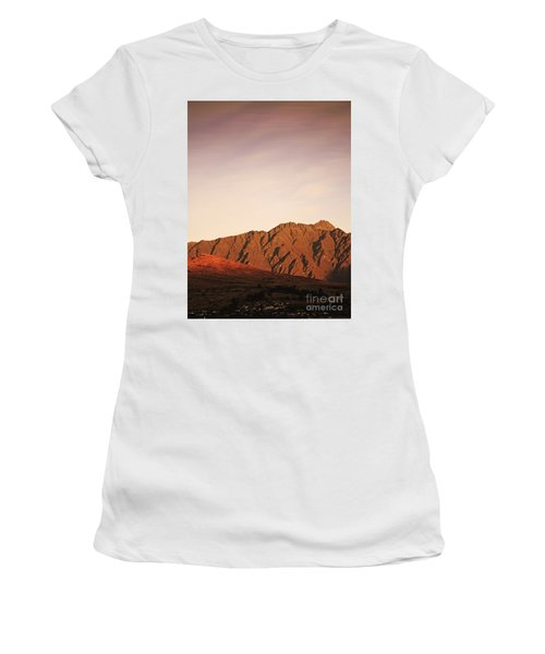 Sunset Mountain 2 Women's T-Shirt (Athletic Fit)