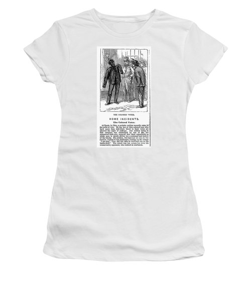 The Colored Voter, 1867 Women's T-Shirt