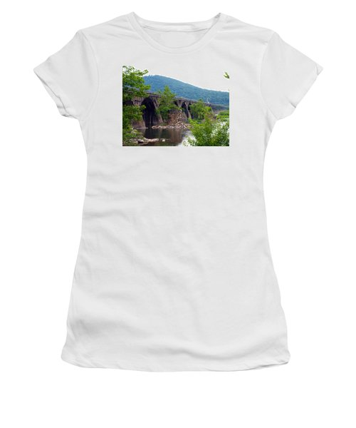 The Great Old Bridge Women's T-Shirt (Athletic Fit)