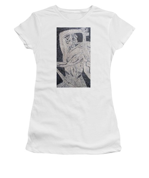 Women's T-Shirt featuring the painting The Hunter by Cynthia Amaral