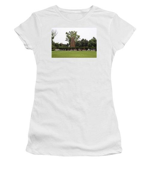 Women's T-Shirt (Junior Cut) featuring the photograph The Jallianwala Bagh Memorial In Amritsar by Ashish Agarwal