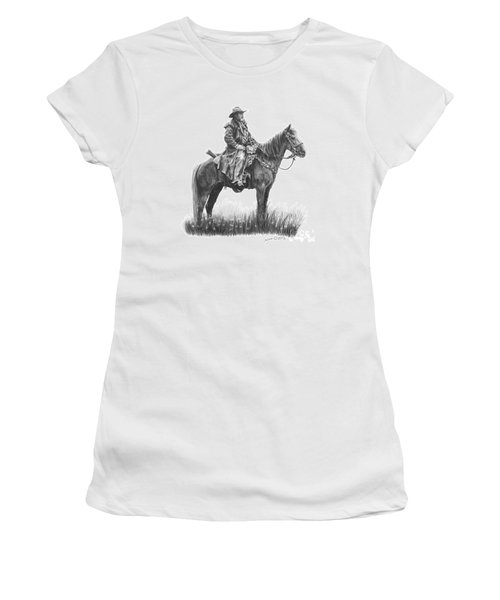 Women's T-Shirt (Junior Cut) featuring the drawing the Quest by Marianne NANA Betts