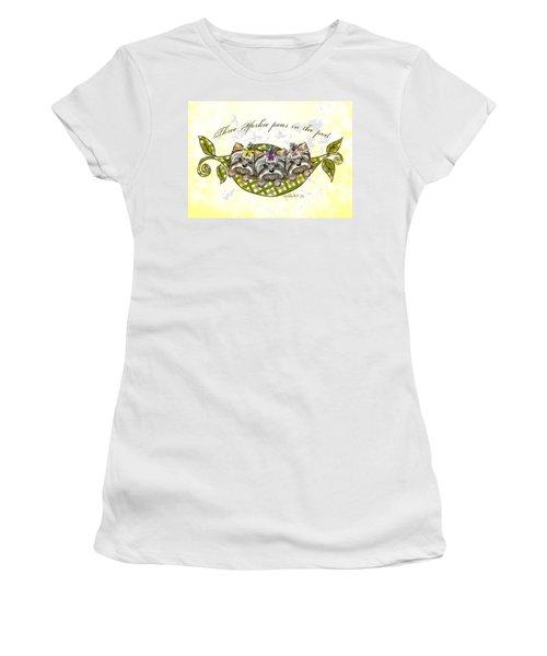 Three Yorkie Peas In The Pod Women's T-Shirt