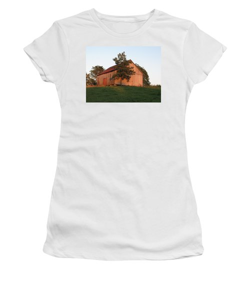 Tobacco Barn II In Color Women's T-Shirt (Junior Cut)