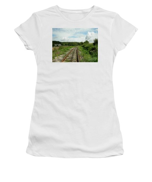 Traveling Towards One's Dream Women's T-Shirt (Athletic Fit)
