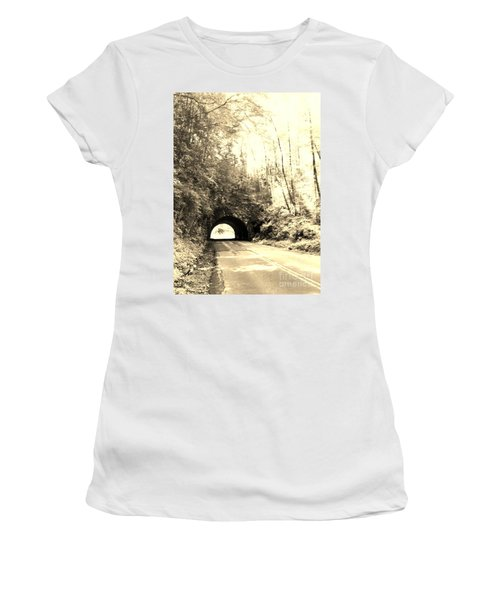 Tunnel Vision Women's T-Shirt (Athletic Fit)