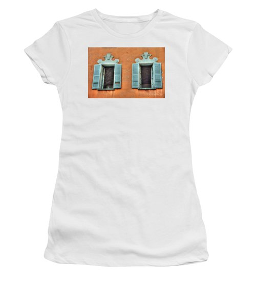 Two Windows Women's T-Shirt (Athletic Fit)