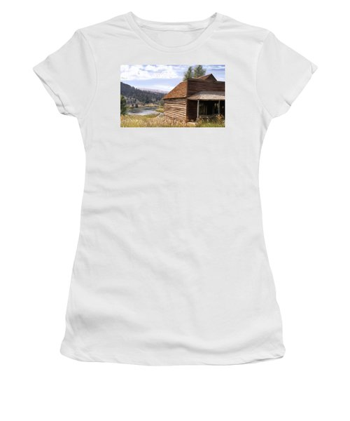 Vc Backyard Women's T-Shirt (Junior Cut)