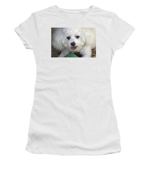 Wanna Play Ball? Women's T-Shirt