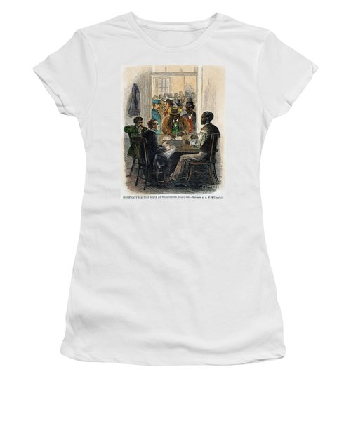 Washington: Voting, 1867 Women's T-Shirt