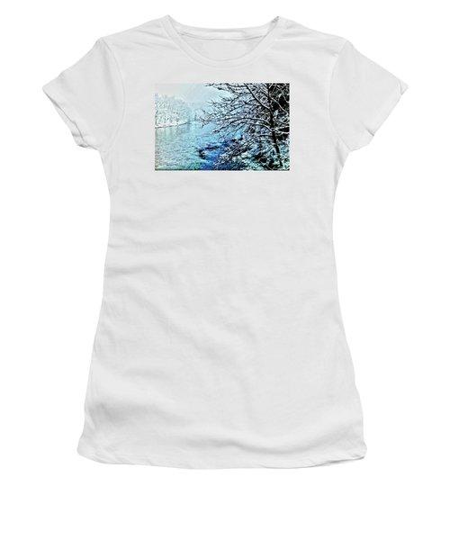 West River Snow Women's T-Shirt