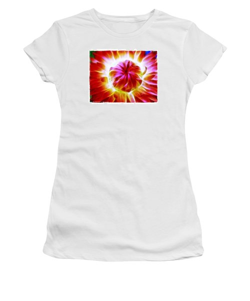 Whirling Women's T-Shirt (Junior Cut) by Judi Bagwell
