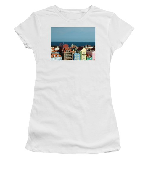 Williemstad Curacoa Women's T-Shirt (Athletic Fit)