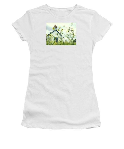 Willkommen Hier Women's T-Shirt (Junior Cut) by Joe Jake Pratt