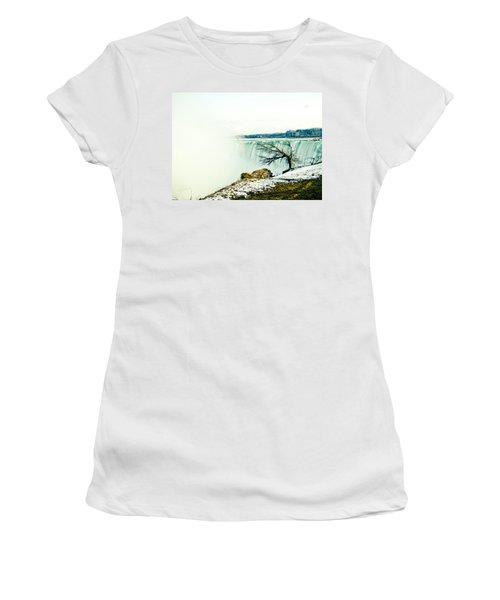 Wonder Women's T-Shirt (Junior Cut) by Sara Frank