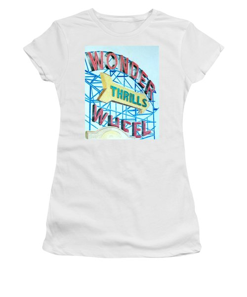 Wonder Wheel Women's T-Shirt (Athletic Fit)