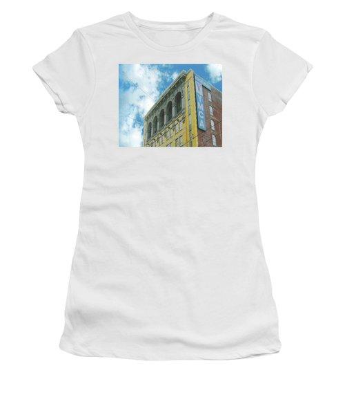Women's T-Shirt (Junior Cut) featuring the photograph Ymca by Lizi Beard-Ward